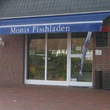 Eingang von Monis Fischladen